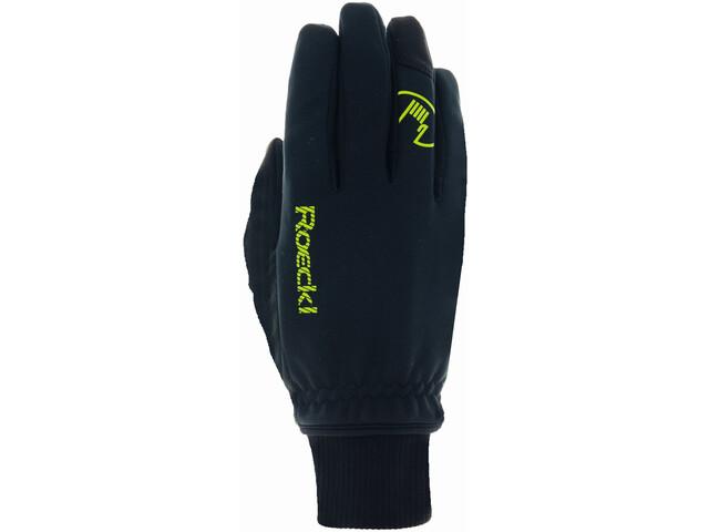 Roeckl Rax Gloves Kids black/yellow